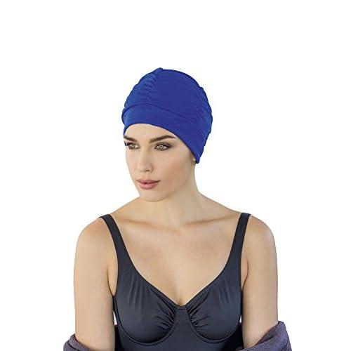Fashy 3403 20_20 - Bonnet de bain - Tissu - Coloris aléatoire - Taille Unique