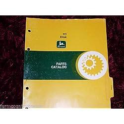 John Deere 111 Disk OEM Parts Manual
