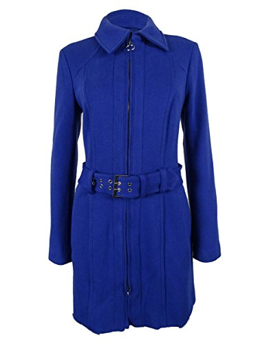 INC International Concepts Belted Zippered Jacket Blue Extra Large (Inc Concepts Clothing compare prices)
