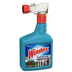 Windex Outdoor Glass and Patio Concentrated Cleaner 32 Fluid Ounces (1)