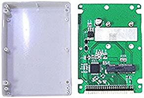 Amazon.com: Aneew mSATA SSD to 44 Pin IDE Adapter with Case ...