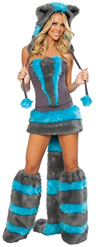 IF FEEL Womens Sexy Halloween Masquerade Cosplay Animal Costume (One size, LC8523) (Belly Dance Costumes For Teenagers)