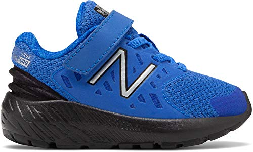 New Balance Boys' Urge V2 FuelCore Running Shoe, Vivid Cobalt/Black, 2 W US Infant