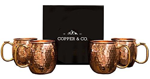 Copper Co Hammered Moscow Solid