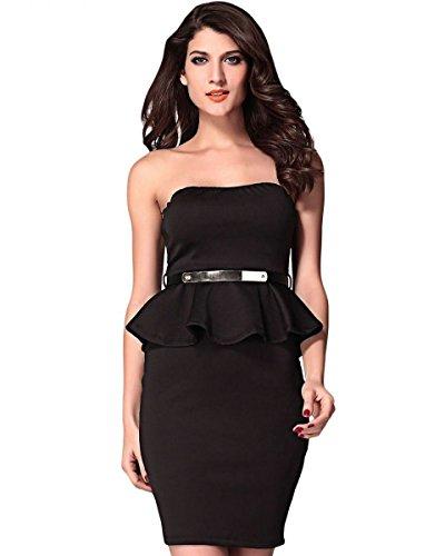 Cfeminin Vestido Mujer Cfeminin Vestido Negro Para Para atqaxr