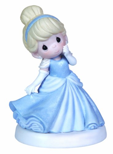 Precious Moments, Disney Showcase Collection, My Time To Shine, Bisque Porcelain Figurine, 123013 ()
