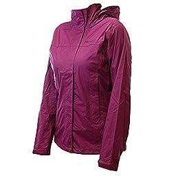 Marmot Women\'s PreCip Jacket: Shell (Magenta, Large)