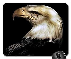 American Bald Eagle 1 Mouse Pad, Mousepad (Birds Mouse Pad)