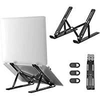 Portable Laptop Stand Aluminum Computer Adjustable Stand for iPad MacBook Pro Tablets and Laptops Such as Lenovo…