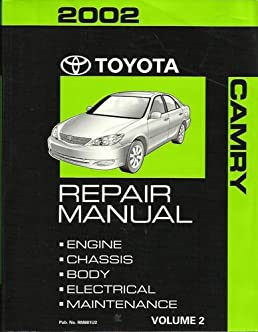 2002 toyota camry repair manual vol 2 engine chassis body rh amazon com Diagram 2002 Toyota Camry Le 2002 Toyota Camry Repair Manual PDF