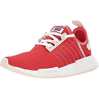 adidas Originals mens Nmd_r1 Running Shoe, Active Red/Active Red/Ecru Tint, 7 US