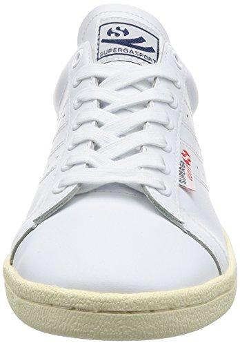 Adulto Efglu Superga 4832 Bianco Unisex Blu Sneaker r6IBn6xdw