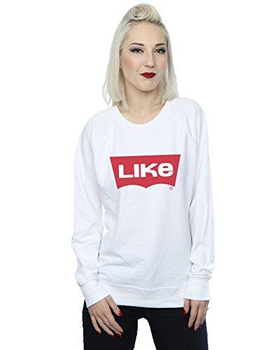 Jeans Blanc Absolute Shirt Like Cult Femme Drewbacca Sweat vxz7q84Tw