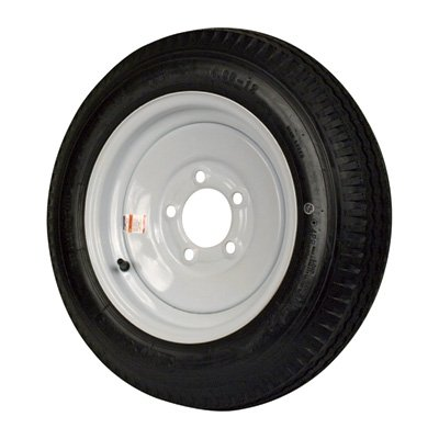 5-Hole High Speed Standard Rim Design Trailer Tire Assembly - 21.5in. x 5.30 x ()
