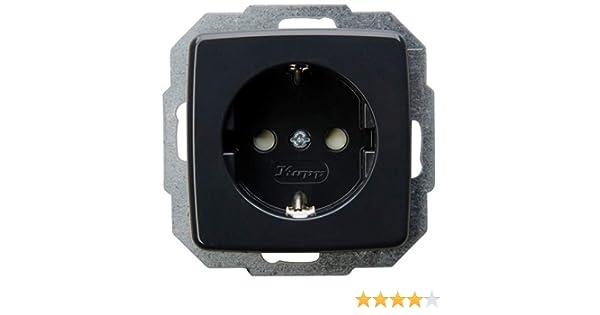 10 AX, 250 V Kopp 585615082 Interruptor universal color gris