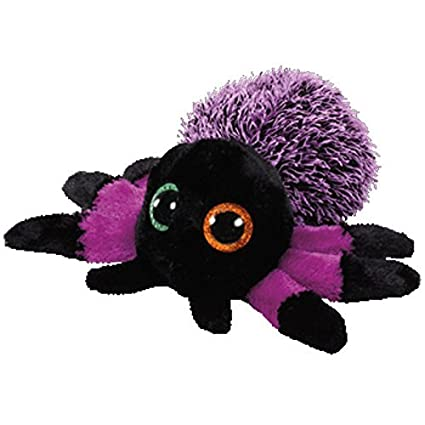 545ab5c304f Image Unavailable. Image not available for. Color  Ty Beanie Boos 37248  Creeper the Purple Spider Boo (free gift with purchase)