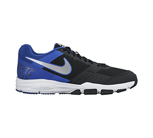 Nike - Nike Air One Tr 2 Zapatos Deportivos Hombre Negro Cuero Tejido 704923 - Negro, 44,5