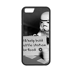 help for a stormtrooper iPhone 6 4.7 Inch Cell Phone Case Black xlb2-382221