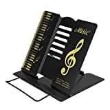 Portable Book Stand Eye-Level Reading Stand Document Holder 68 Angle Adjustable 8.26.57.5 Inch