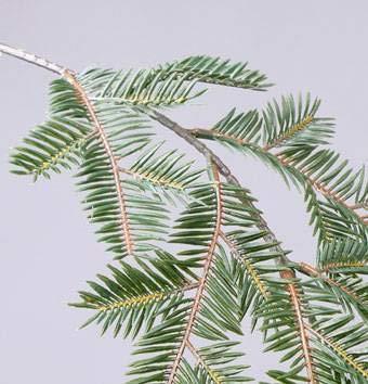 Verde Ramo Decorativo Abete Artificiale 65cm artplants.de Ramo dabete Finto YANTO