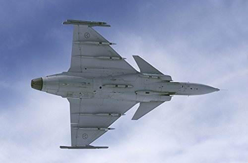 Lulea Sweden - Saab JAS 39 Gripen fighter plane of the Swedish Air Force Poster Print (34 x - Fighters Gripen 39 Jas