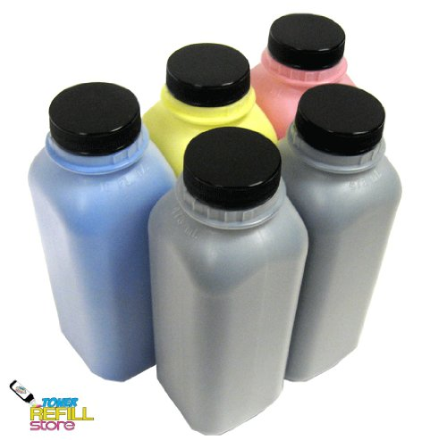 5PK Toner Refill Kit for Brother TN221 / TN225 (TN-221 / TN-225) HL-3140CW HL-3170CDW MFC-9130CW MFC-9330CDW MFC-9340CDW