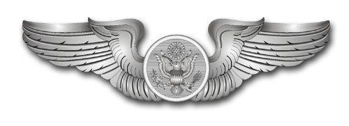 US Air Force Enlisted Aircrew Member Decal Sticker 3.8