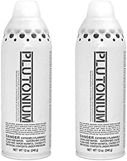 product image for Plutonium Paint Ultra Supreme Professional Aerosol Spray Paint, 12-Ounce, Clear Gloss (2 Pack)
