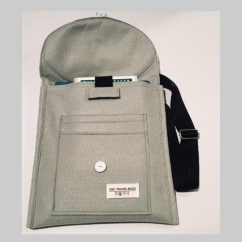 Raccoon Messenger Bag