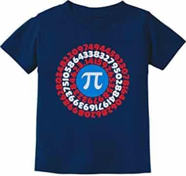 66f630bd7a5 Pi Day Superhero - Captain Pi Gift for Math Geeks Toddler Infant Kids T-