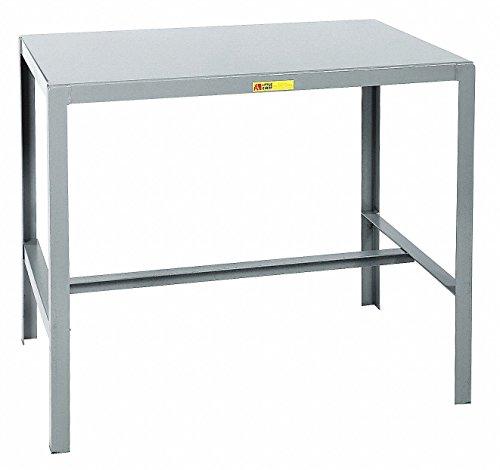 Cheap Little Giant MT1-2436-36 Steel Top Machine Table, 24″ D x 36″ W x 36″ H, Gray