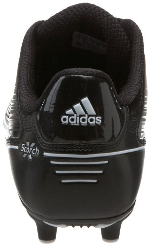 Pictures of adidas Men's Scorch X SuperFly Low Black/White/Metallic Silver 7