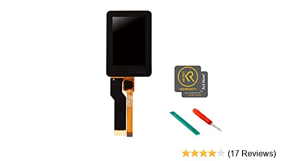 KR-NET Back LCD Touch Screen Display Replacement Parts for GoPro Hero 5 Black, with Free Tools