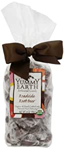 YumEarth Organic Artisanal Candy Drops, Roadside Root Beer, 6 Ounce Pouches (Pack of 6)