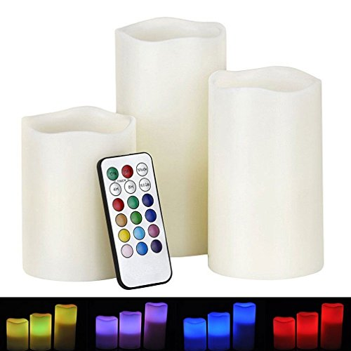 Led Light Changing Candles - 8