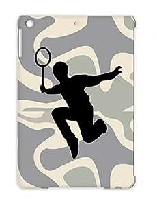 Sports Miscellaneous Tennis Badminton Black Case For Ipad Air TPU