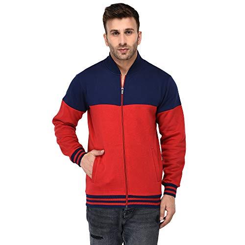 Vivid Bharti Full Sleeve Colorblock Men Sweatshirt