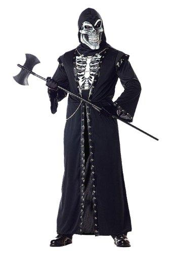 California Costumes Men's Crypt Master Adult, Black, Medium