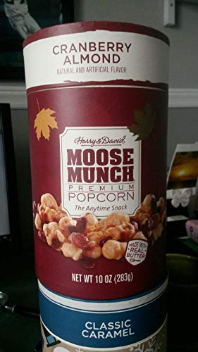 Cranberry Almond Holiday Moose Munch 10oz - Holiday Moose