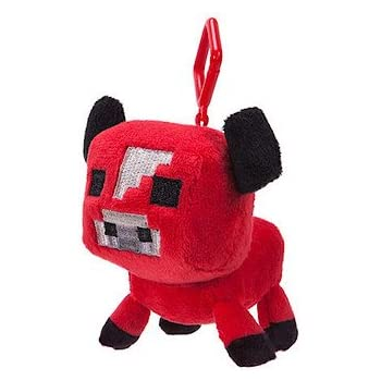 Minecraft Series 1 Plush Clip Baby Mooshroom