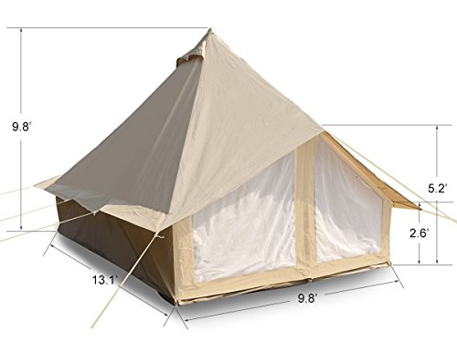 Dream Big Weather Person Canvas Camping Tent