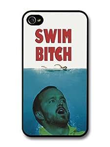 Breaking Bad Jesse Pinkman Swim Bitch Jaws Funny For Samsung Galaxy S5 Mini Case Cover