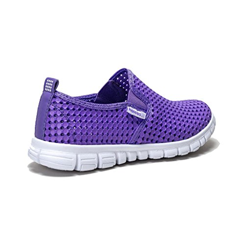 Lightweight to On Memory HOLEES Womens Sizes and Foam Lilac Choose Shoes Various Loafer Original Slip Ladies Colours wxC6qX01