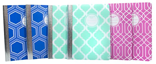 Carolina Pad Studio C Composition Notebook, 6 Pack