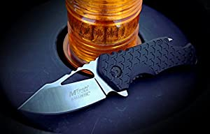 MTech USA MT-A882 Series Spring Assist Folding Knife, 3-Inch Closed