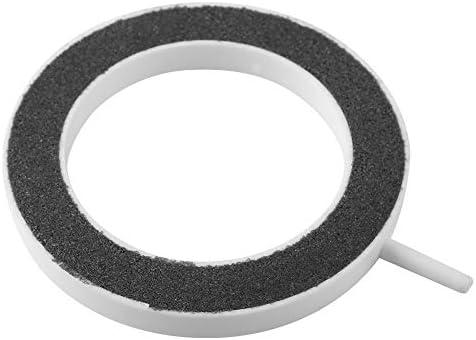 idalinya Air Stone Disc-Blasendiffusor mit Saugnäpfen für die Hydroponik-Aquariumpumpe(125*H18mm)