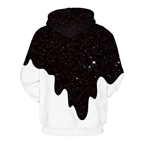 Estampadas Con Manga Capucha Sweatshirt Primavera Unisex Larga Moda Elegante Swag Streetwear Casual Pareja Hoodie Cómodo Otoño Sudaderas Sudadera qfvFdq