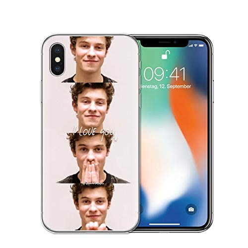 (iPhone X/Xs Case. Singer Shawn Mendes Magcon Soft Silicone Transparent TPU Phone Case Cover for iPhone X/Xs.)