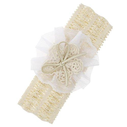 Pour Enfant Cheveux Baby Bande Pcs Headband Fille Fleur Bébé 12 Bandeau De Acmede wYFHq8