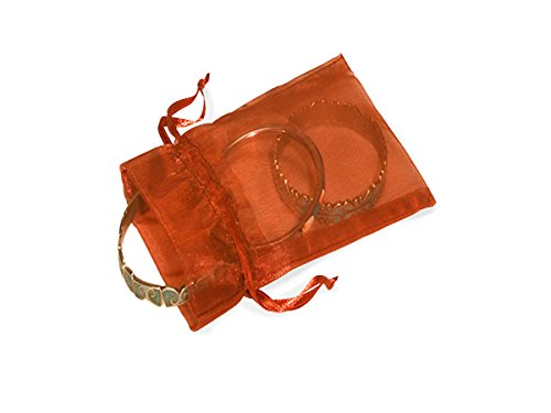 Copper Organza Bags 2x2-1/2